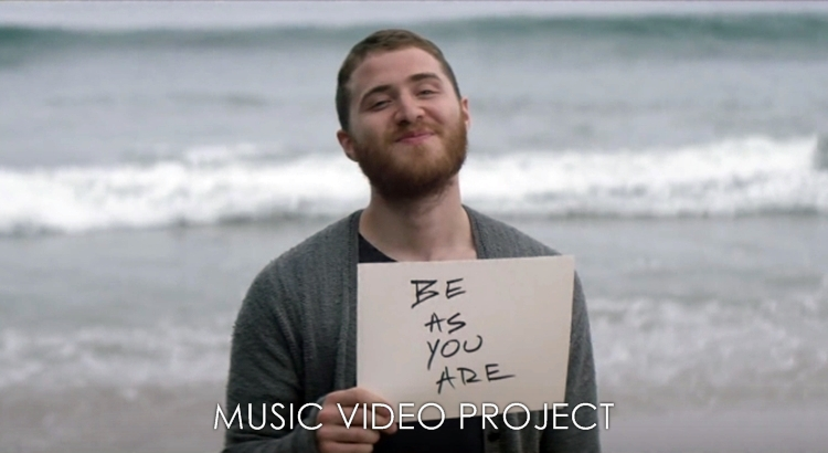 "Mike Posner Enlisting Fans for ""Be As You Are"" Music Video"