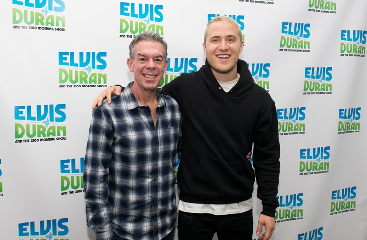 Mike Posner Interview + Performance at Elvis Duran and the Morning Show