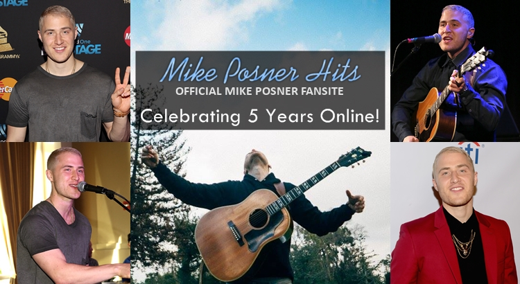 MikePosnerHits.com Celebrates 5 Years Online Today