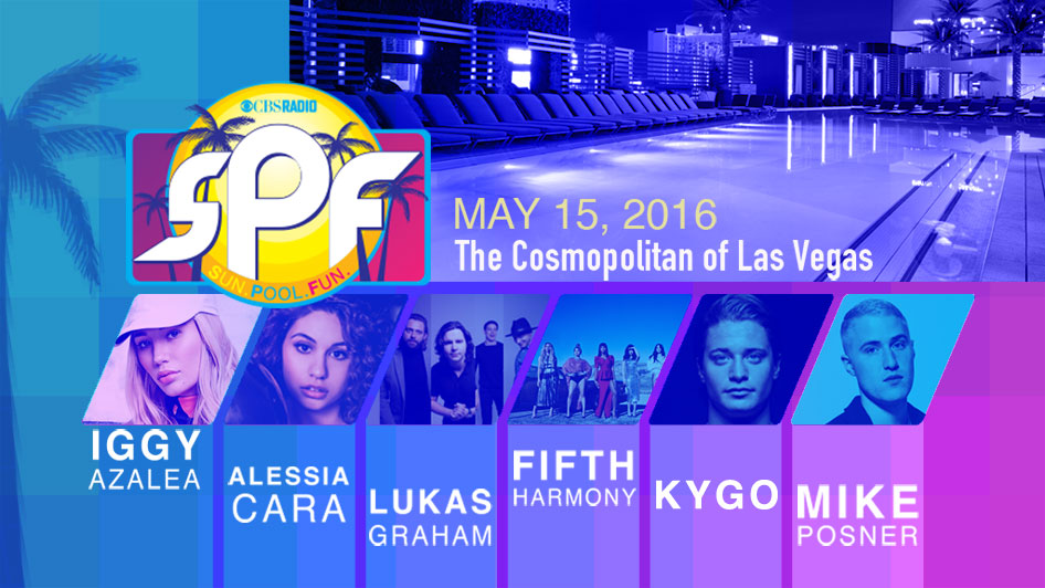Mike Posner to Perform at CBS Radio's SPF – May 15
