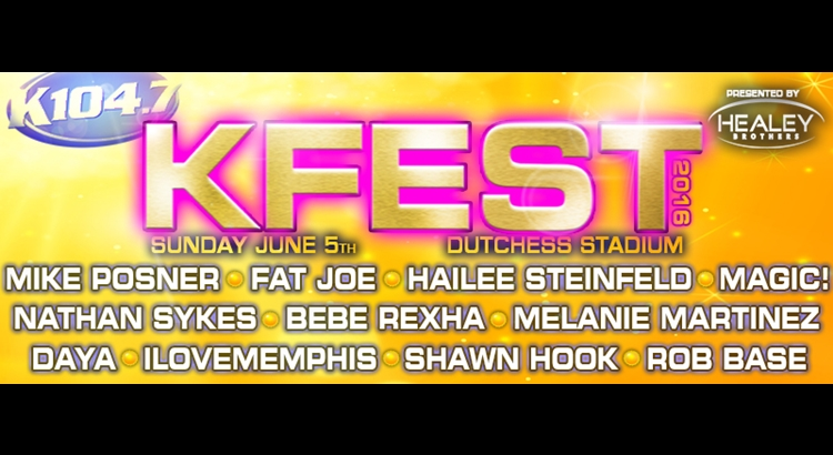 Mike Posner to Perform at K104.7's KFEST 2016 – June 5
