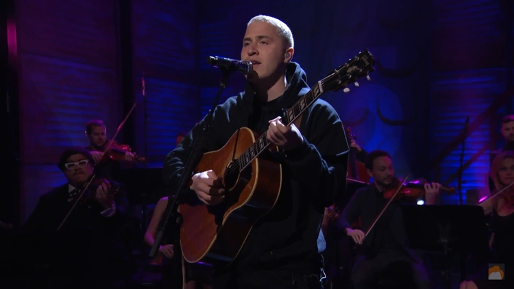 """Mike Posner Performs Heartbreaking Rendition Of """"I Took A Pill In Ibiza"""" On Conan"""