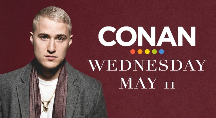 Mike Posner to Appear on Conan TONIGHT!