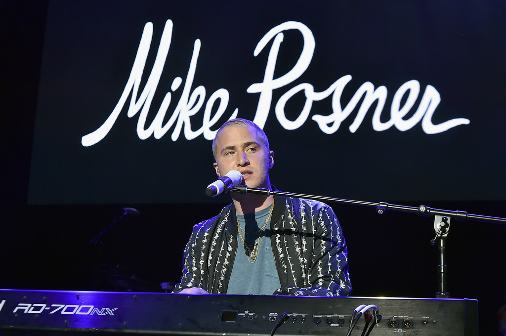 Mike Posner at 103.5 KTU's KTUphoria 2016