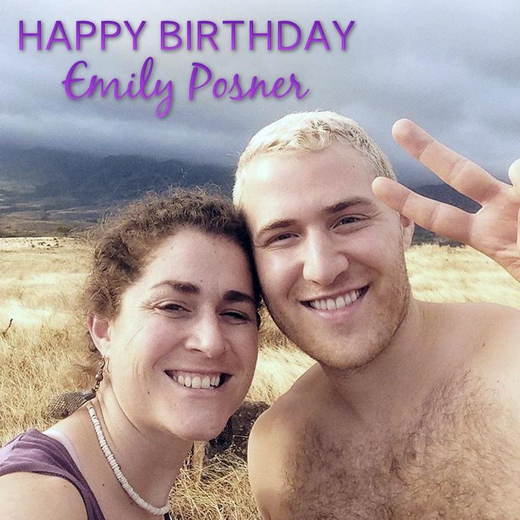 Happy 35th Birthday Emily Posner