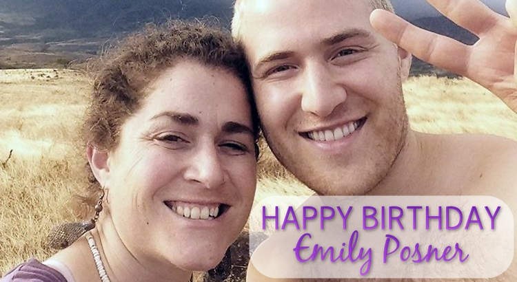Happy 35th Birthday, Emily Posner!