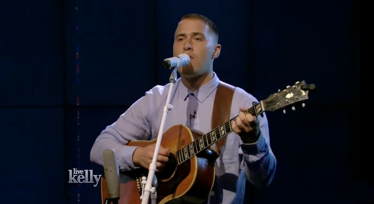 "Mike Posner Performs ""Be As You Are"" on 'LIVE with Kelly'"