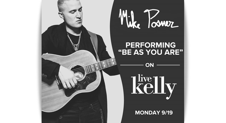 Mike Posner Performs on 'LIVE with Kelly' – September 19