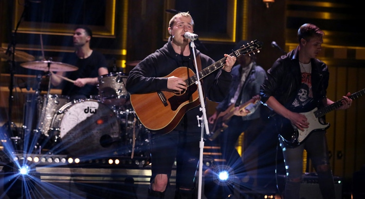 "Mike Posner Performs ""Be As You Are"" on The Tonight Show Starring Jimmy Fallon"