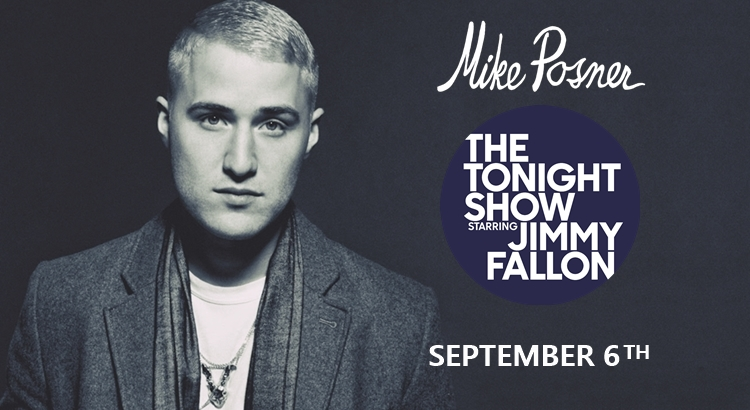 Mike Posner Performs on 'The Tonight Show Starring Jimmy Fallon' – September 6
