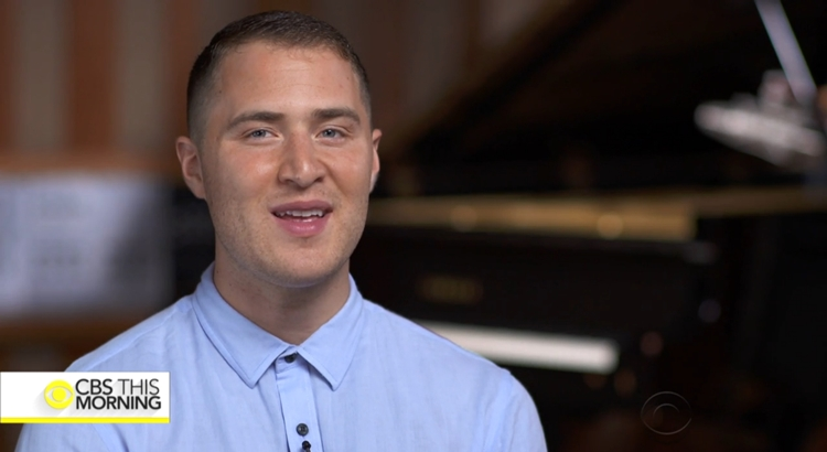 Mike Posner Spoke with CBS This Morning Co-Host Gayle King