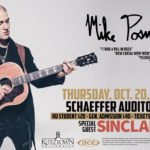 Mike Posner to Perform at Kutztown University's Homecoming Concert – October 20