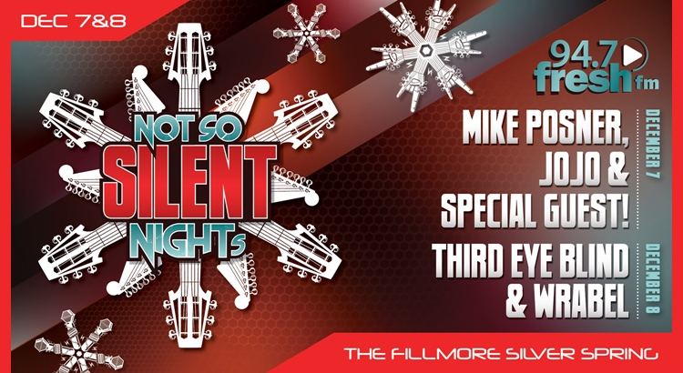 Mike Posner to Perform at 94.7 Fresh FM's 'Not So Silent Night' – December 7