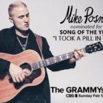 Mike Posner Receives 2017 GRAMMY Award Nomination