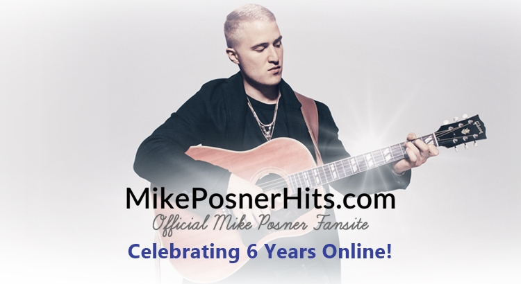 MikePosnerHits.com Celebrates 6 Years Online!