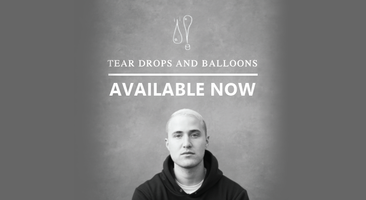 Mike Posner Tear Drops And Balloons Book of Poetry - AVAILABLE NOW!
