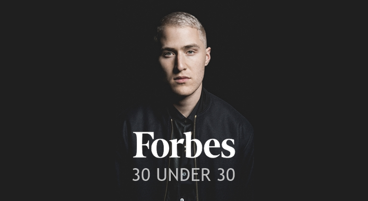 Mike Posner Made Forbes' 30 Under 30 List for 2018