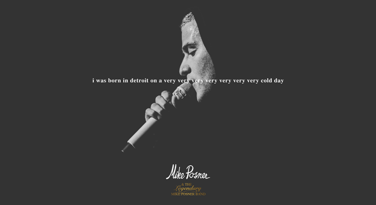 Mike Posner Releases Poetry Album – i was born in detroit on a very very very very very very very cold day