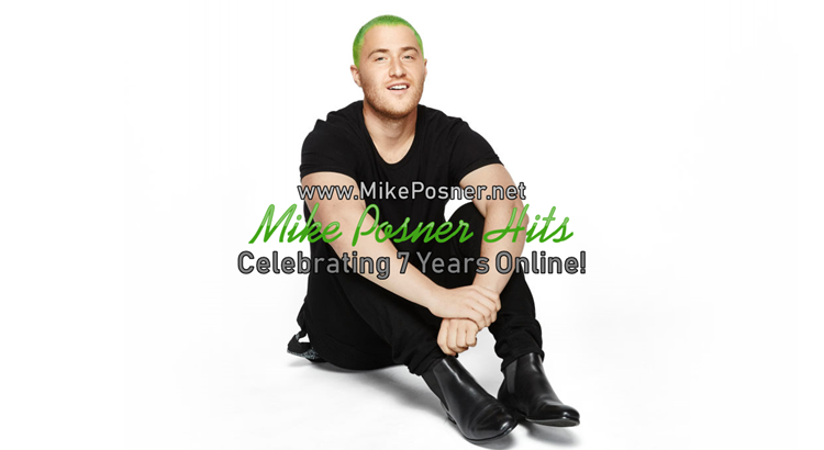 Mike Posner Hits: Celebrating 7 Years Online!