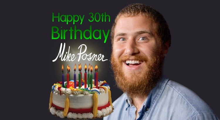 Happy 30th Birthday, Mike Posner!