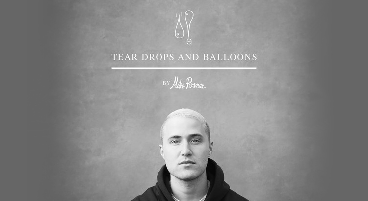 Mike Posner 'Tear Drops and Balloons' (Audiobook) – NOW AVAILABLE!