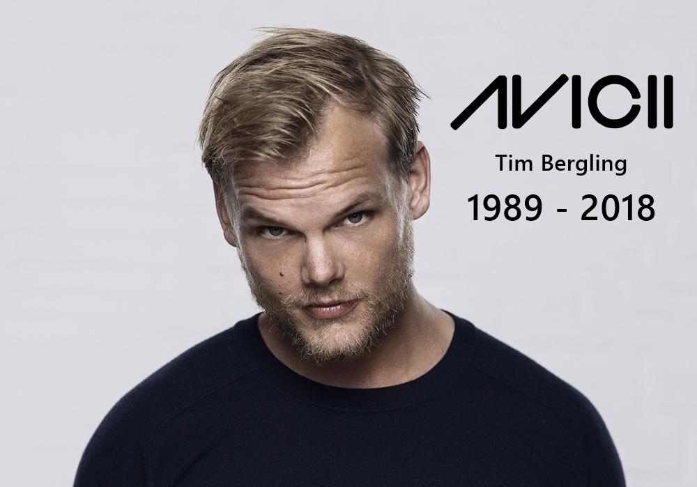 RIP Avicii 1989-2018