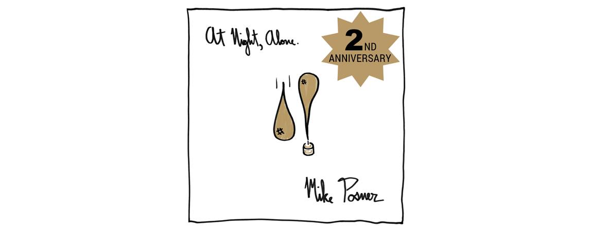 Mike Posner's 'At Night, Alone.' 2 Year Anniversary