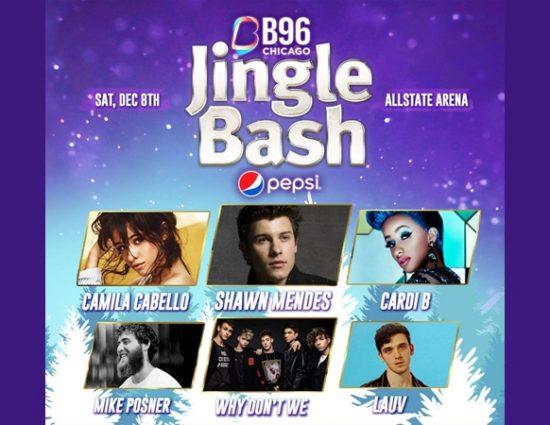 Mike Posner to Perform at the B96 Pepsi Jingle Bash