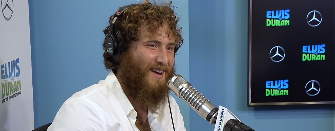 Mike Posner on Elvis Duran and the Morning Show