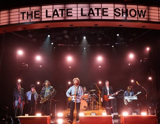 """Mike Posner Performs """"Song About You"""" on The Late Late Show with James Corden"""