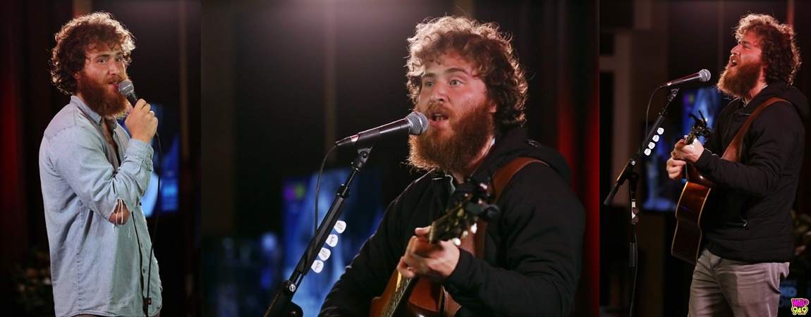 Mike Posner at the AT&T Thanks Sound Studio