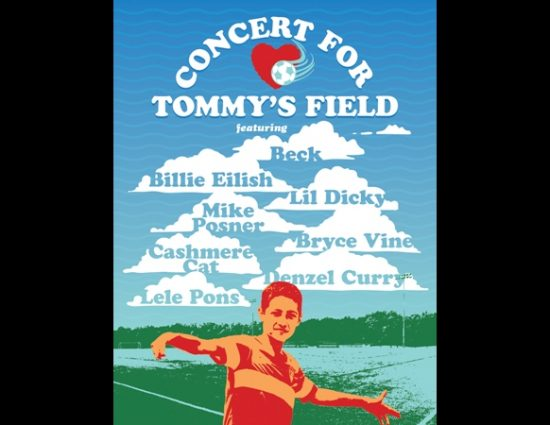 Mike Posner to Perform at the Concert For Tommy's Field