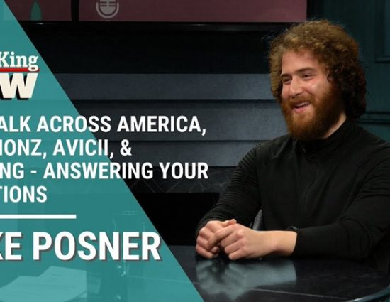 Larry King Interviews Mike Posner