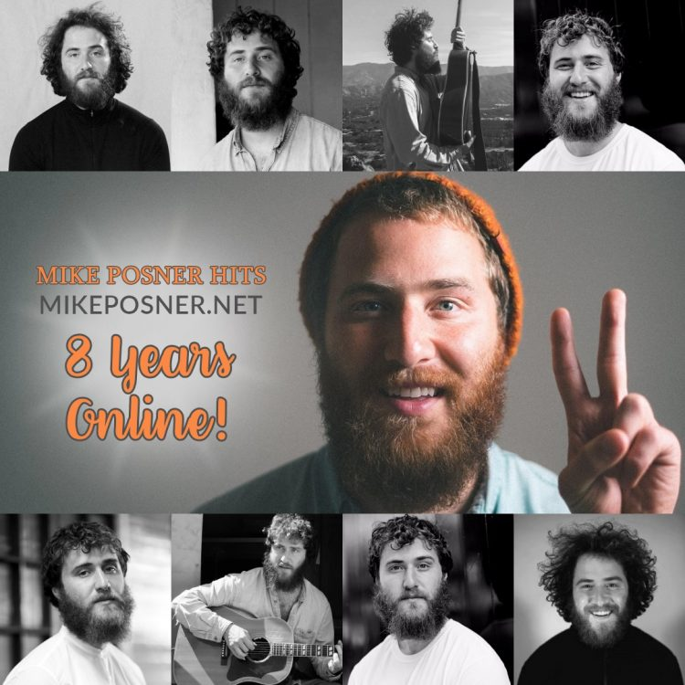 Mike Posner Hits: Celebrating 8 Years Online!