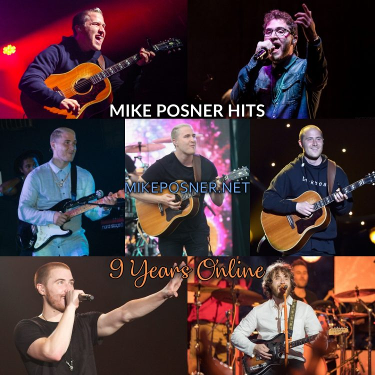 Mike Posner Hits: Celebrating 9 Years Online!