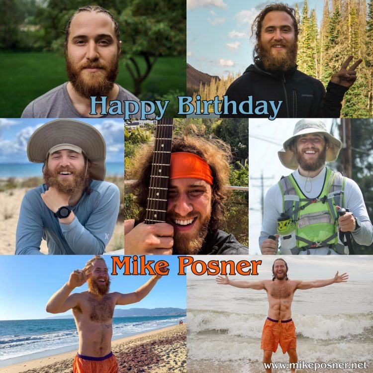 Happy 32nd Birthday, Mike Posner!