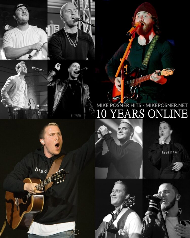 Mike Posner Hits: Celebrating 10 Years Online!